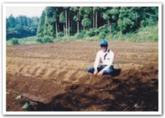 十時の栽培フィールド