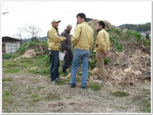 2011年腐葉土作り