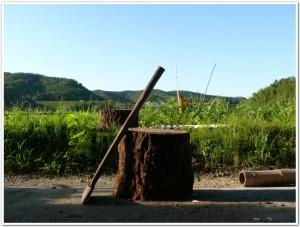 薪割りの道具