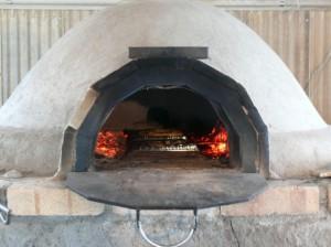 一気に2つピザが焼けます