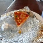 ピザを沢山食べた
