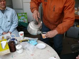 コーヒーカップのプランター