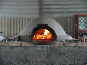 2011年に作ったピザ窯