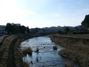 茜川上流方面