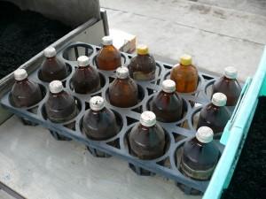 昔から再利用している空き瓶