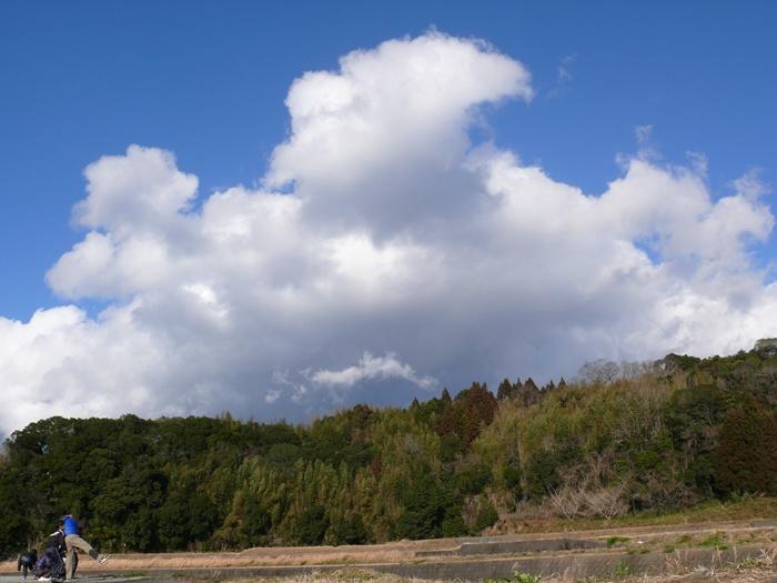 千歳町の空模様