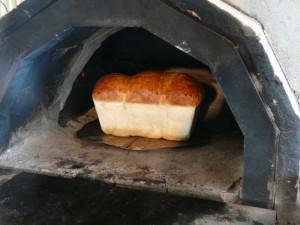 パンが焼けて嬉しい