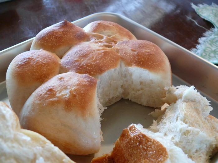 焼き色が美味しいパン