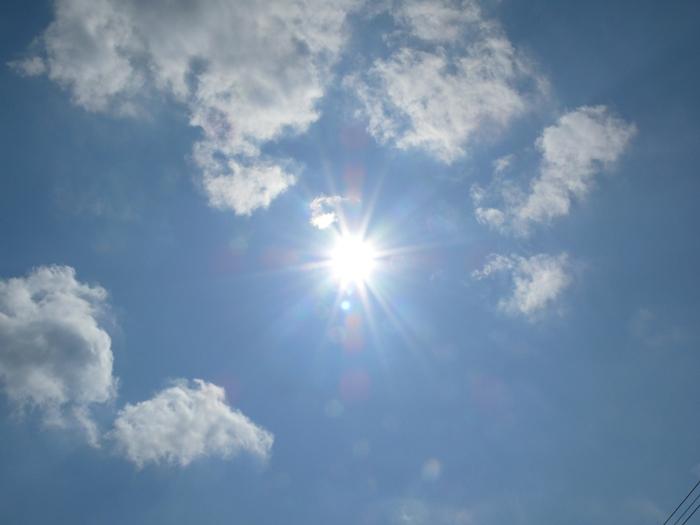 夏の日差しから秋の日差しへ