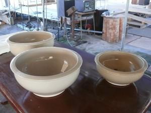 大小ある練り鉢