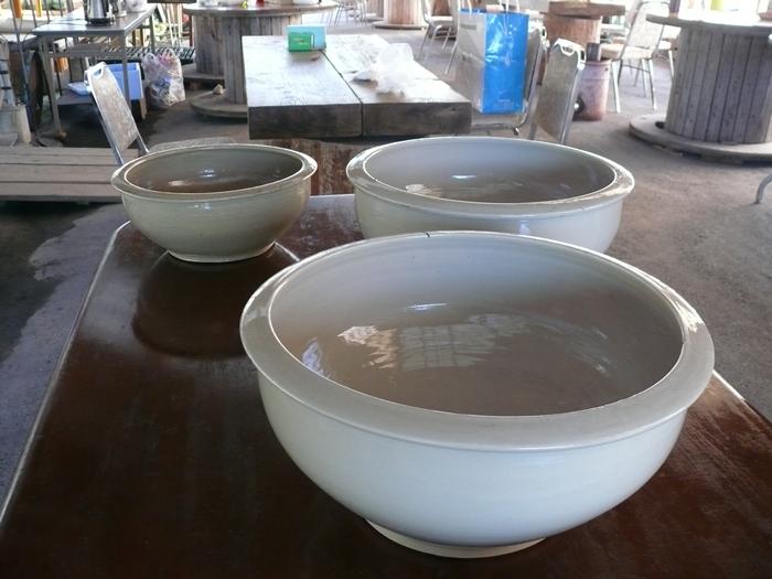練り鉢3つ