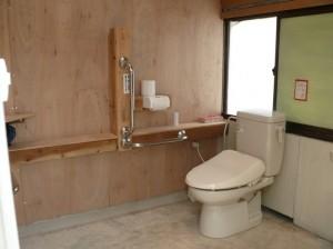 新しいトイレのできあがり