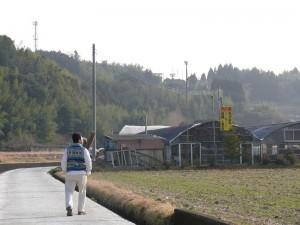 千歳町と散歩