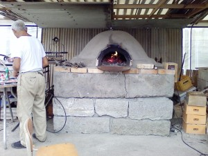 2014年10月ピザ窯復活
