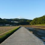 千歳町を流れる茜川周辺
