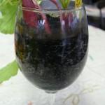 ラディッシュとワイングラスプランター
