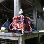 平尾神社の子供神輿