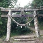 平尾神社の鳥居