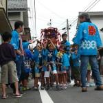 千歳町の子供神輿