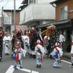 獅子舞の舞い