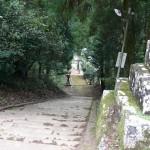 平尾神社の階段