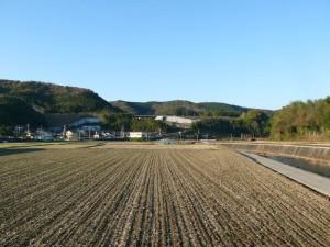 田園風景と散歩コース