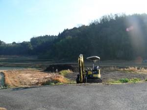 腐葉土の整備後