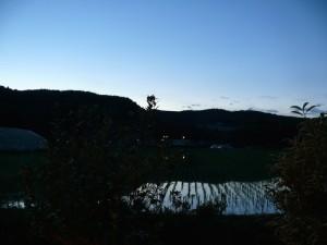 夜明かり夜風