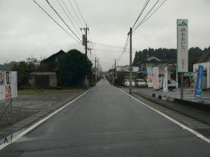 千歳町の道