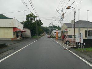 千歳町の通り