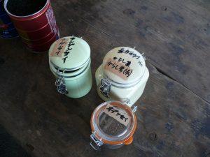 2018空き缶へ種まき