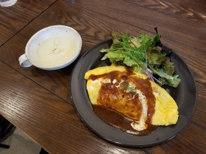 Cafe Green Brown_オムライス